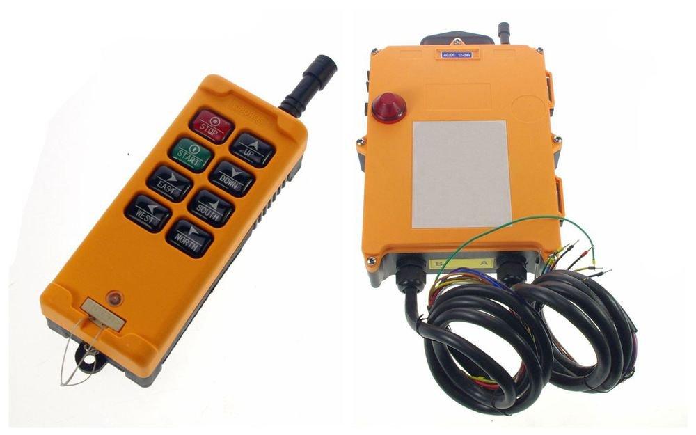 3 Motion 2 Speed Hoist Crane Truck Radio Remote Control System Control