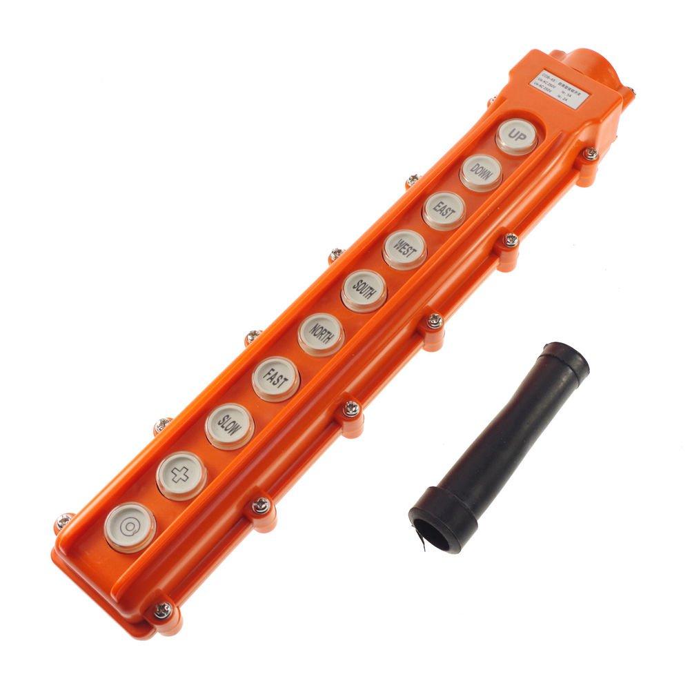 (1)COB-65 For Hoist & Crane Control Station Push Button Switch Up-Down Rainproof