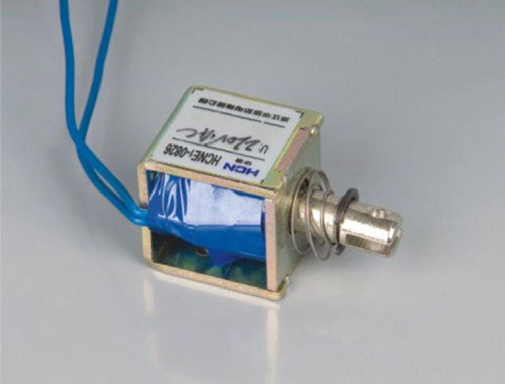 24V 1Kg Pull Hold/Release 3-5mm Stroke  Force Electromagnet Solenoid Actuator