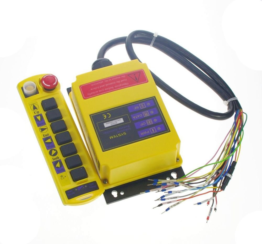 7 Channels 2 Speed Control Hoist Crane Remote Controller System CE