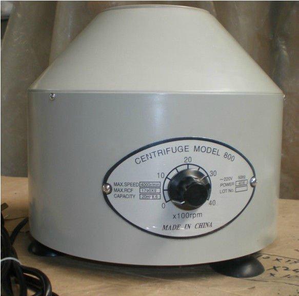 Centrifuge Electric Lab machine 0-4000 rpm Cap:20ml�6 (800)