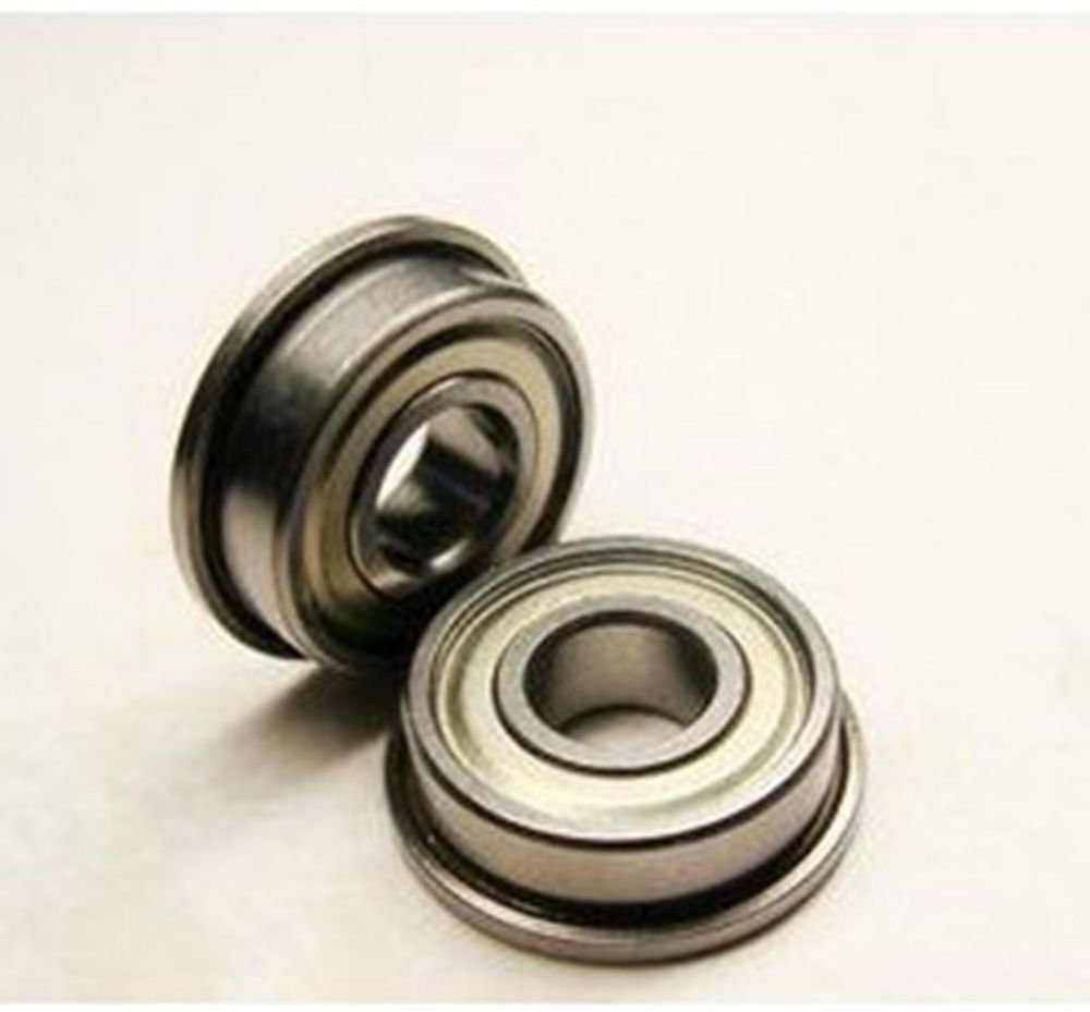(2) 12 x 24 x 6mm SF6901ZZ Stainless Steel Shielded Flanged Model Flange Bearing