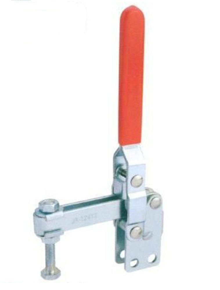 Vertical Toggle Clamp 12412 Holding Capacity 200Kg Straight Base