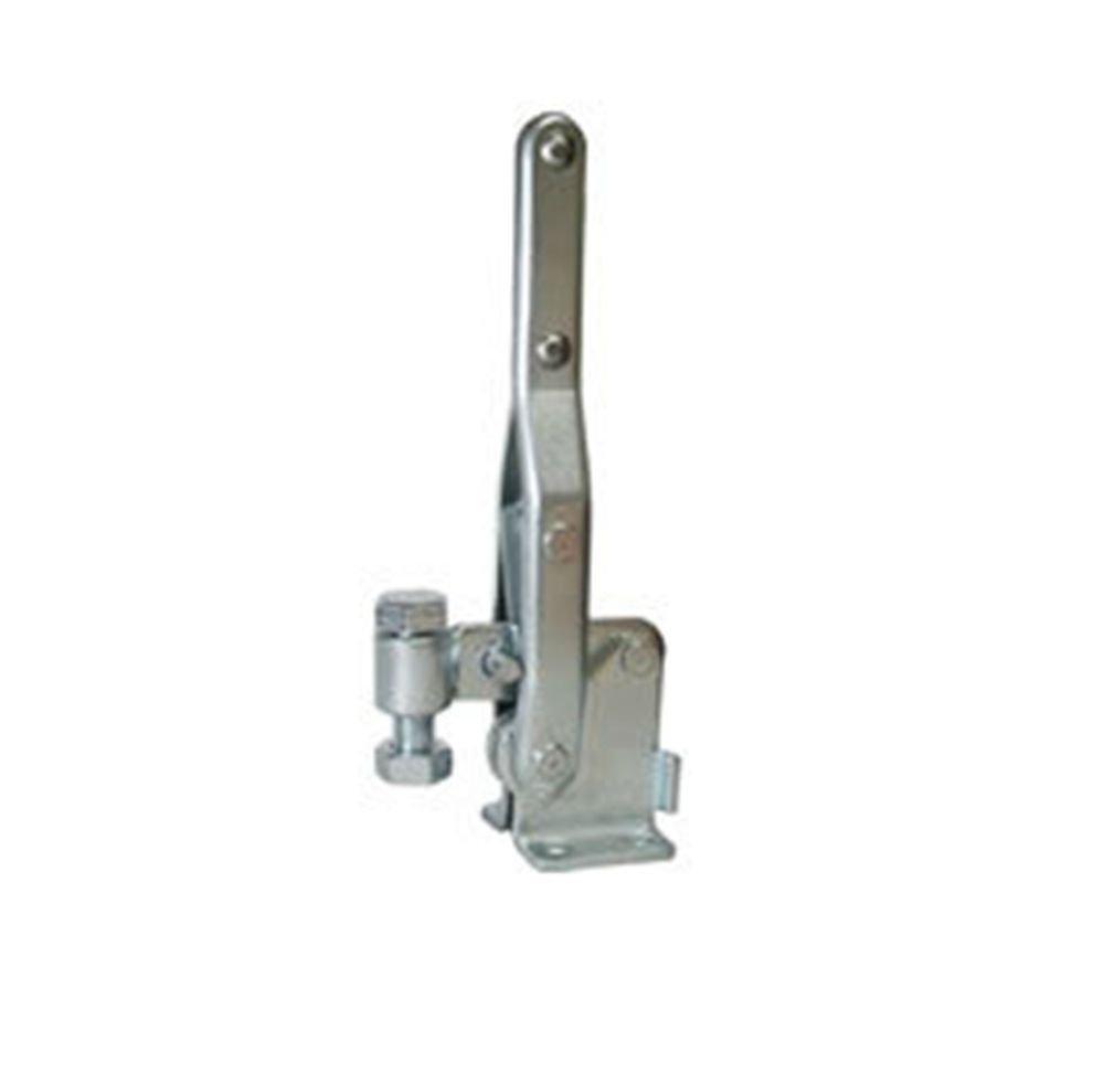 Vertical Toggle Clamp 10448 Holding Capacity 400Kg Flange Base Short Pressure