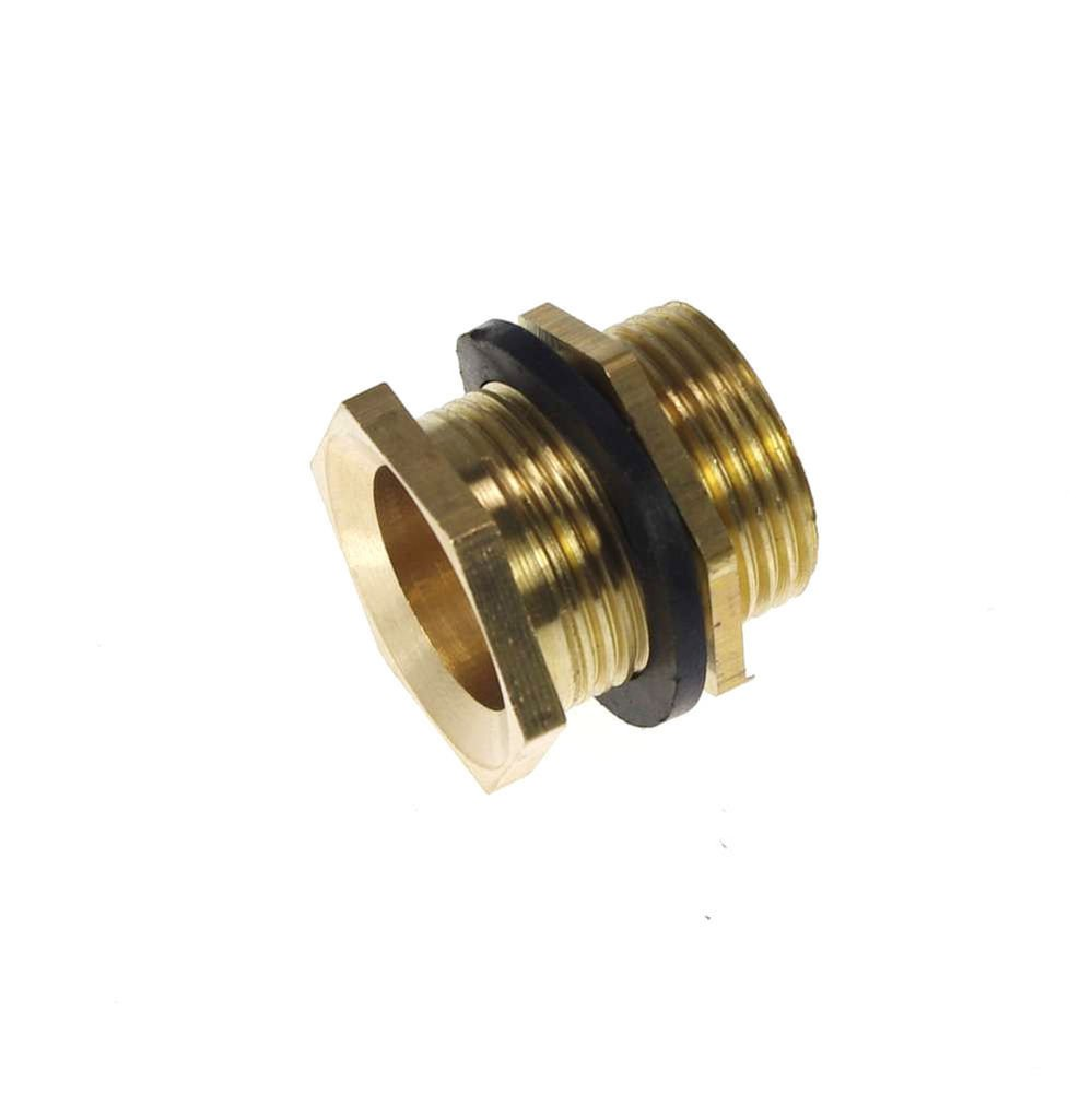 Lot2 1/2� BSPP Brass Pipe Swivel Fitting Nut Water Tank Connector