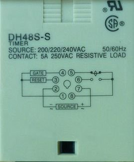 12VDC DH48S-S Repeat Cycle 3A Multifunction Digital Timer Relay On Delay SPDT