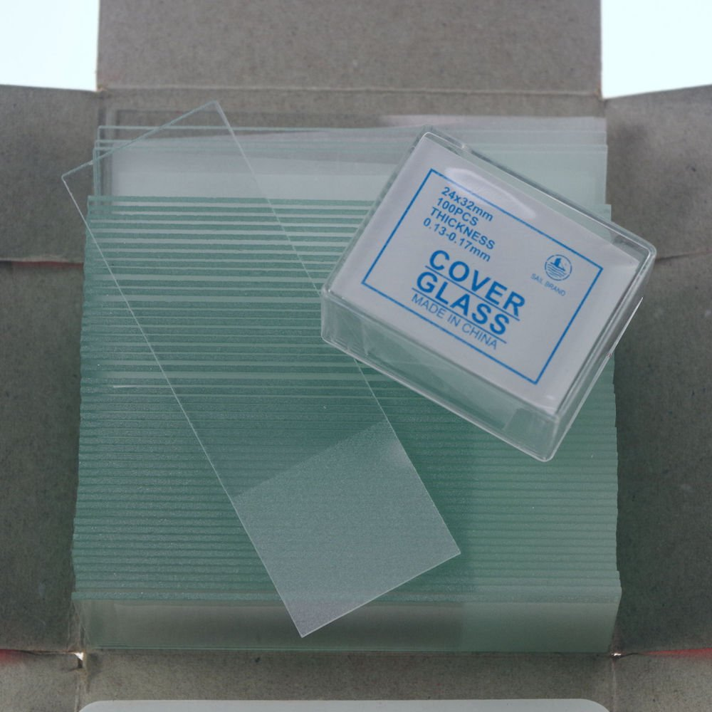 microscope slides 50pcs frosted &200pcs 24x32  cover glass slips