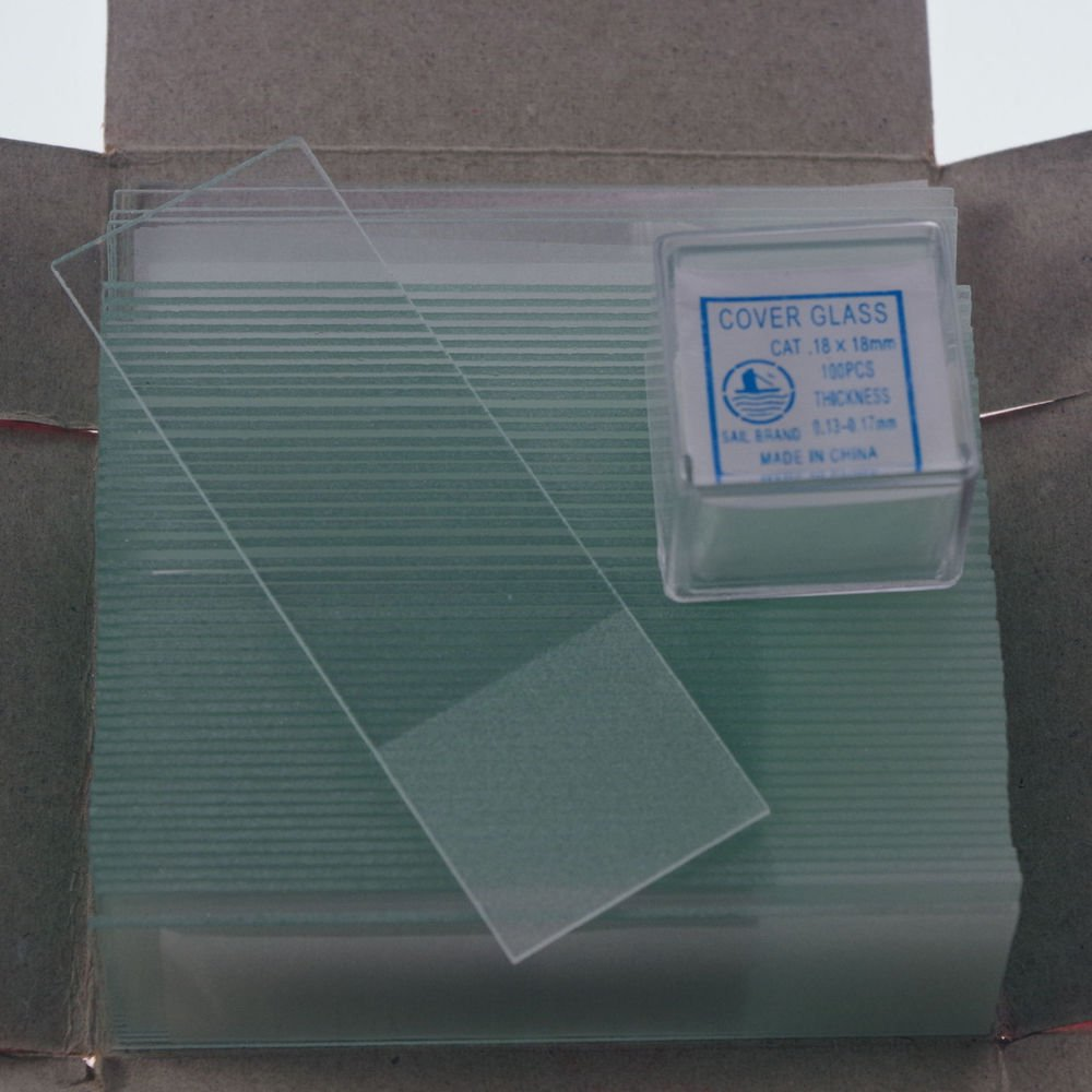 microscope slides 50pcs frosted & 200pcs 18x18 cover glass slips