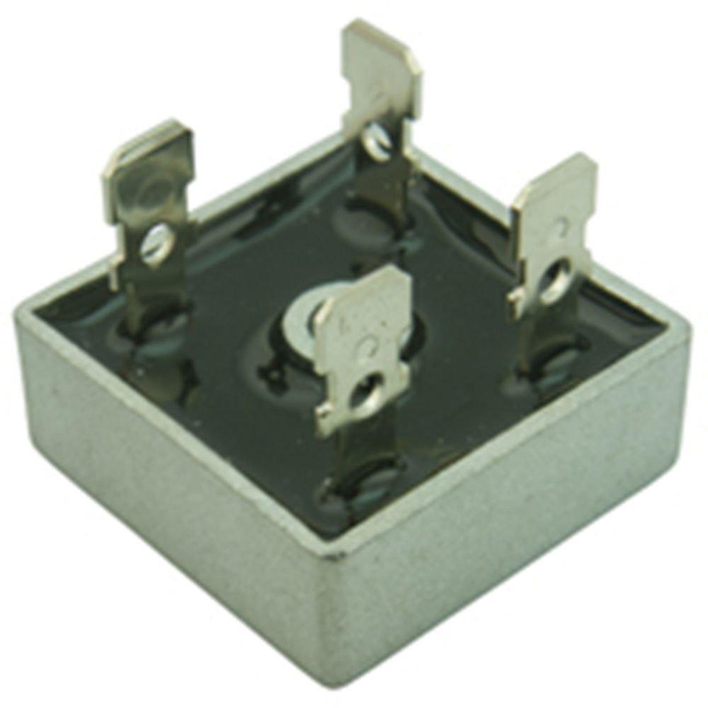 10 Pieces  KBPC2510 25A 1000V Metal Case Single Phase Diode Bridge Rectifier