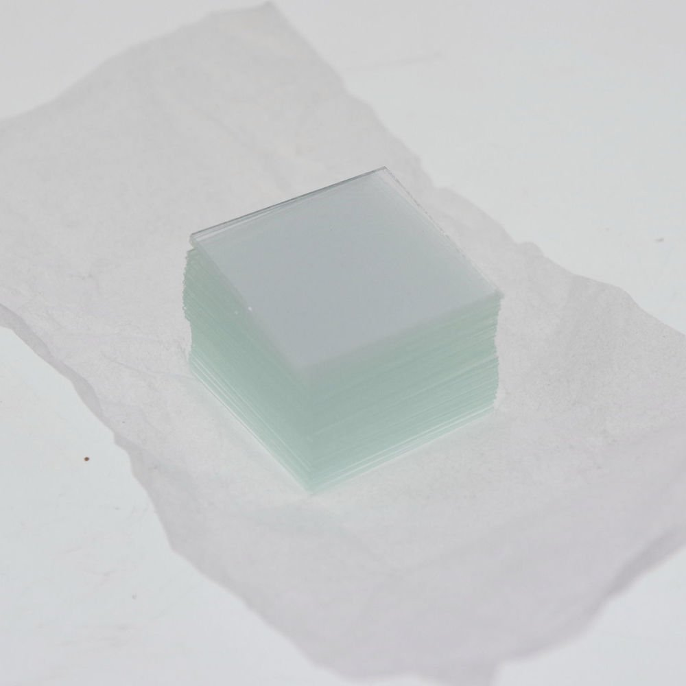100pcs microscope cover glass slips 20mmx20mm