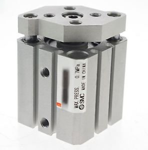 SMC Type CQMB32-30 Compact Cylinder Guide Rod Type Double Acting Through-holes