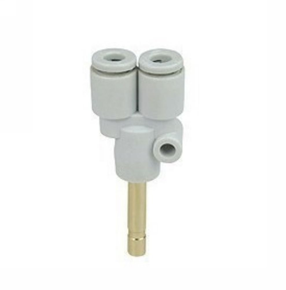 (5) One Touch Plug In Branch Union Y Tube 6mm Connectors Replace SMC KQ2U06-99