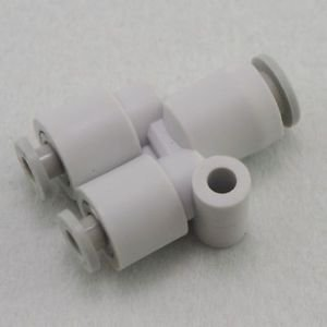 �5� Tube Fittings Push In Reducer Connector Union Y Replace SMC KQ2U06-08
