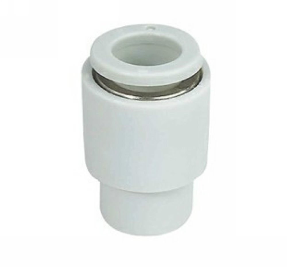 (5) Push In One Touch Connectors Tube Cap Plug Tube 8mm Replace SMC KQ2C08-00