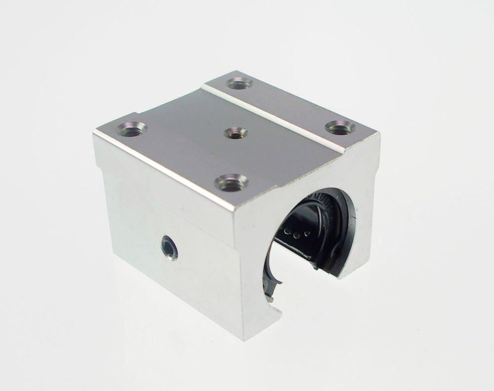 (1) Liner Motion Ball Units Pillow Block Slide With Open Bearing SBR16UU 16mm