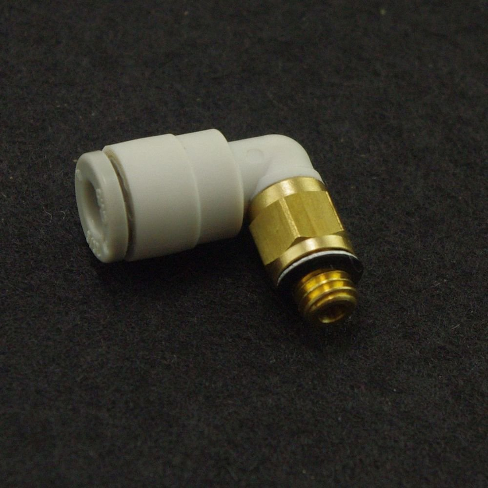 �5� Push In Connector Elbow Union 8mm-M5 thread Replace SMC KQ2L08-M5