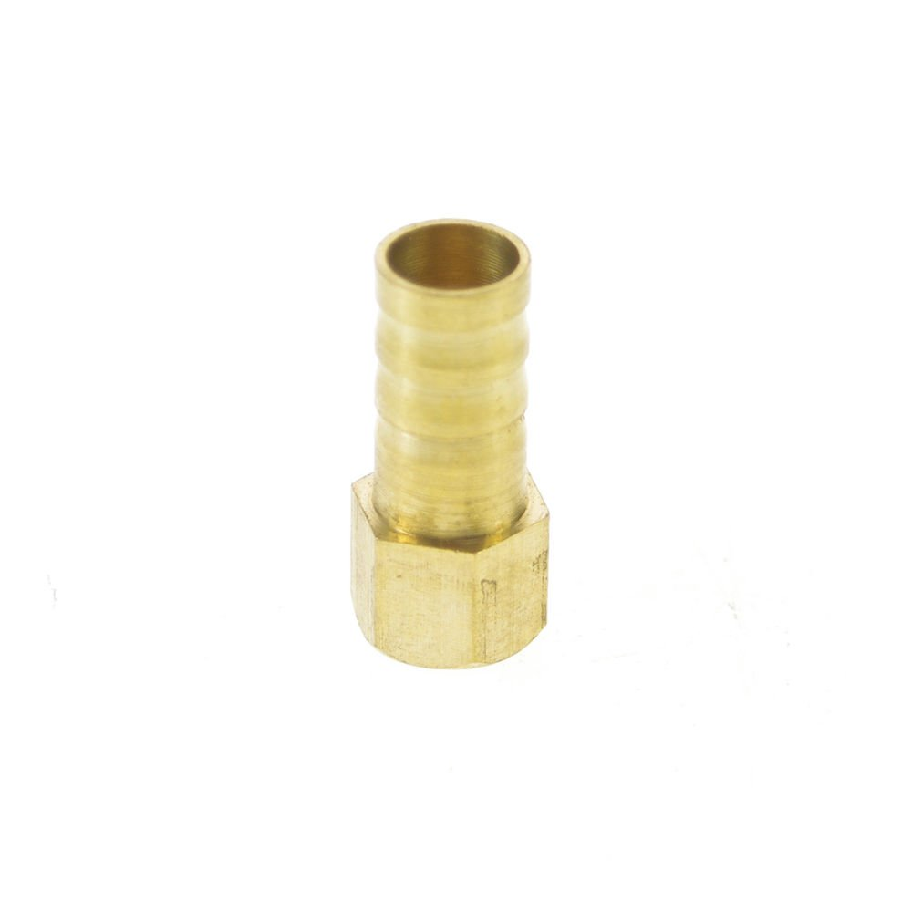 """5pcs 1/8"""" BSPP Connect Female-10mm barbed Hose Brass Pipe Connector Adapter"""