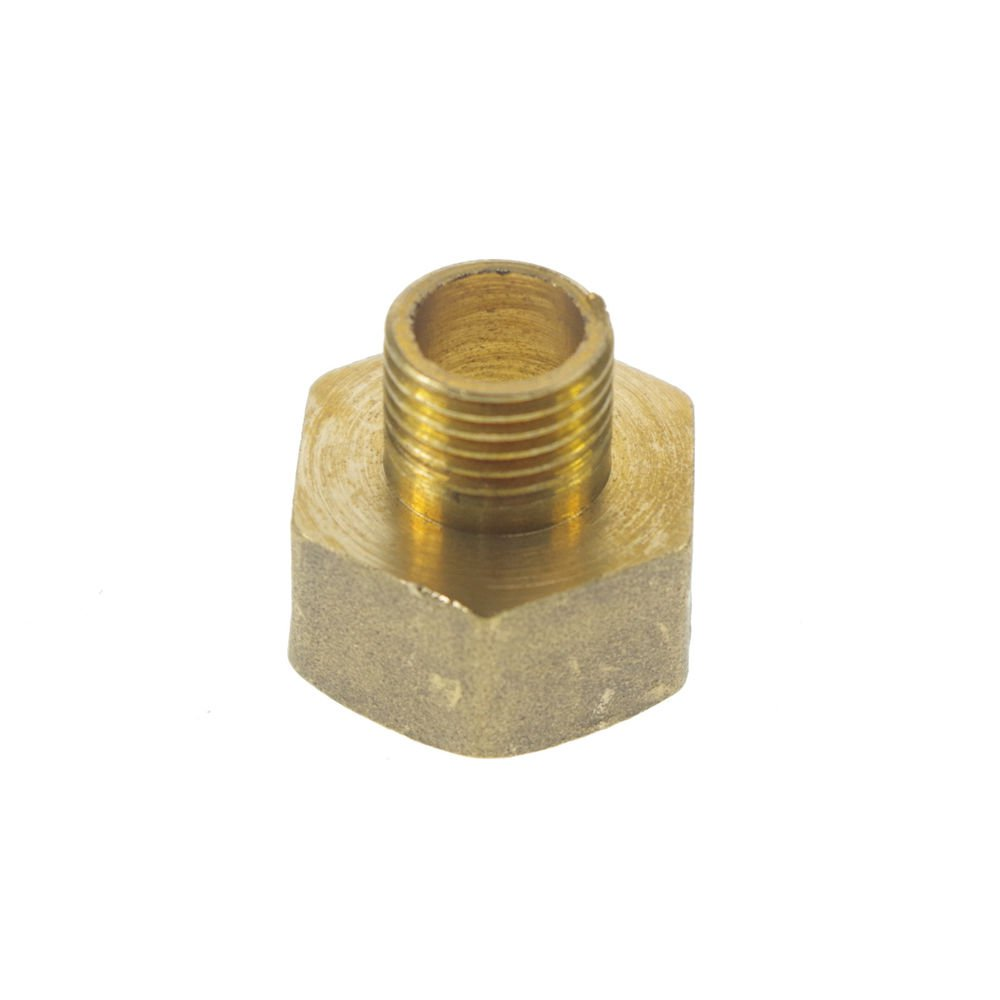 """5PCS Brass 1/4"""" Male x 1/2"""" BSPP Female Adapter Reducer"""