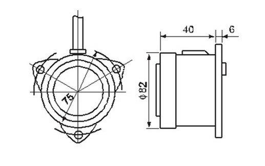 110VAC Panel Mount Mini Electronic Buzzer Alarm Replacement New High Power