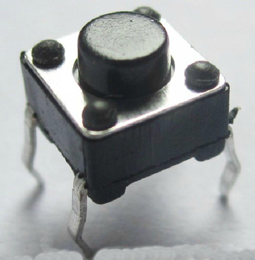 20 pcs 12 x 12 x 5mm PCB Momentary Tactile Tact Push Button Switch 4 Pin DIP