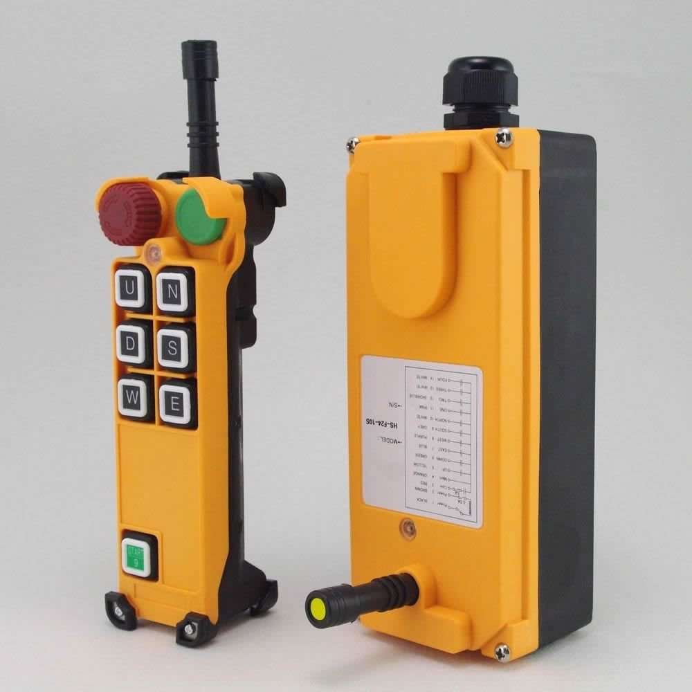 415V 1 Speed 3 Motion Hoist Crane Truck Radio Remote Controller System  E-Stop