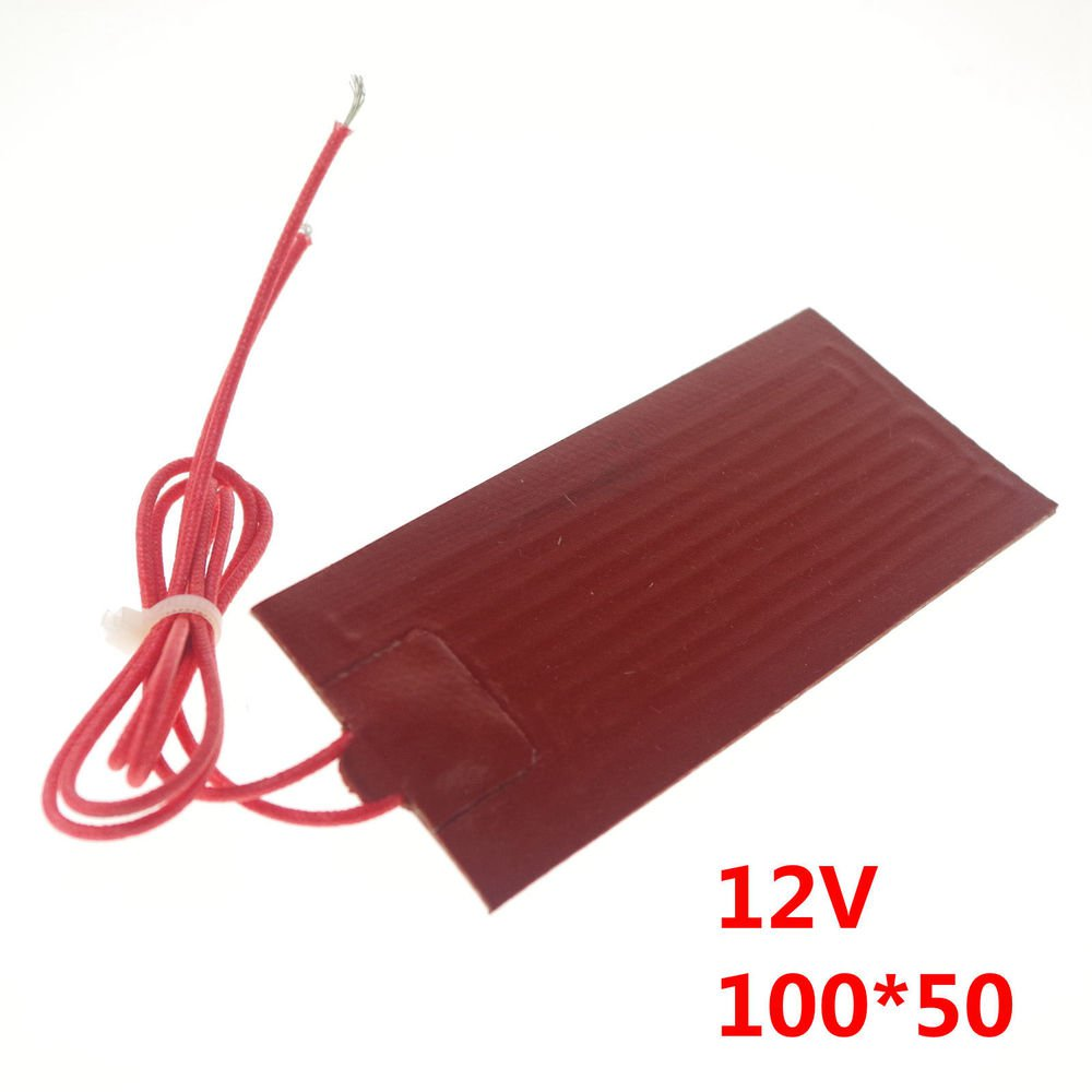 12V 20W 100mm*50mm Silicon Band Drum Heater Oil Biodiesel Plastic Metal Barrel