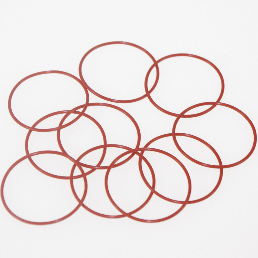 50PCS Silicone Rubber VMQ 3*1mm-40*1mm Seal Rings O-Rings