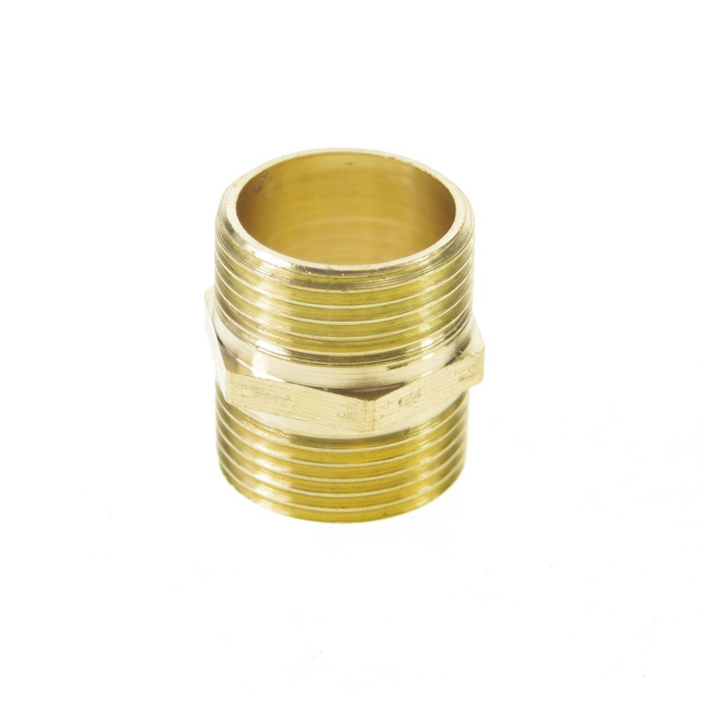 """5PCS 3/4"""" BSPP Connection straight Male Pipe Brass Adapter Coupler Connector"""