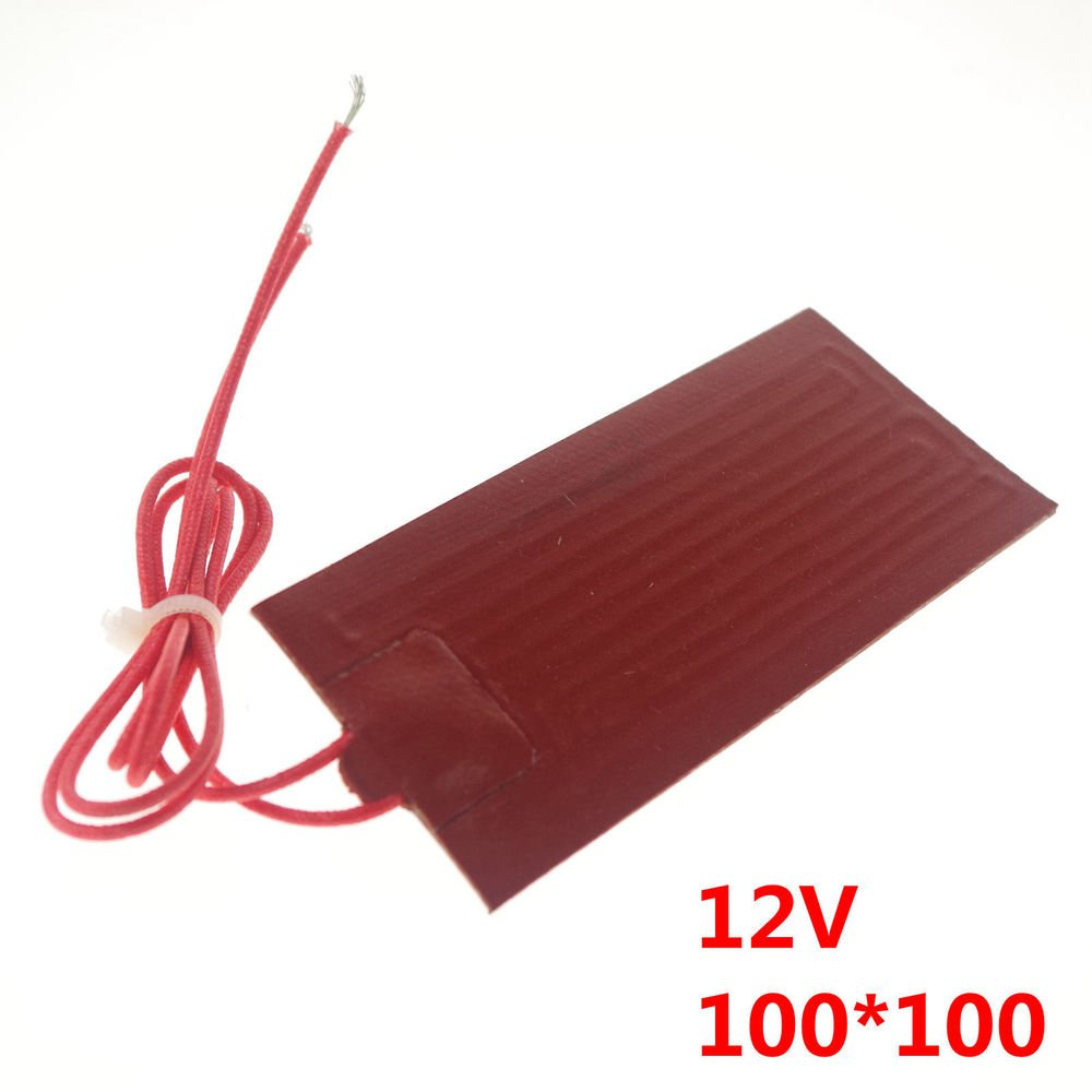 12V 15W 60mm*60mm Silicon Band Drum Heater Oil Biodiesel Plastic Metal Barrel