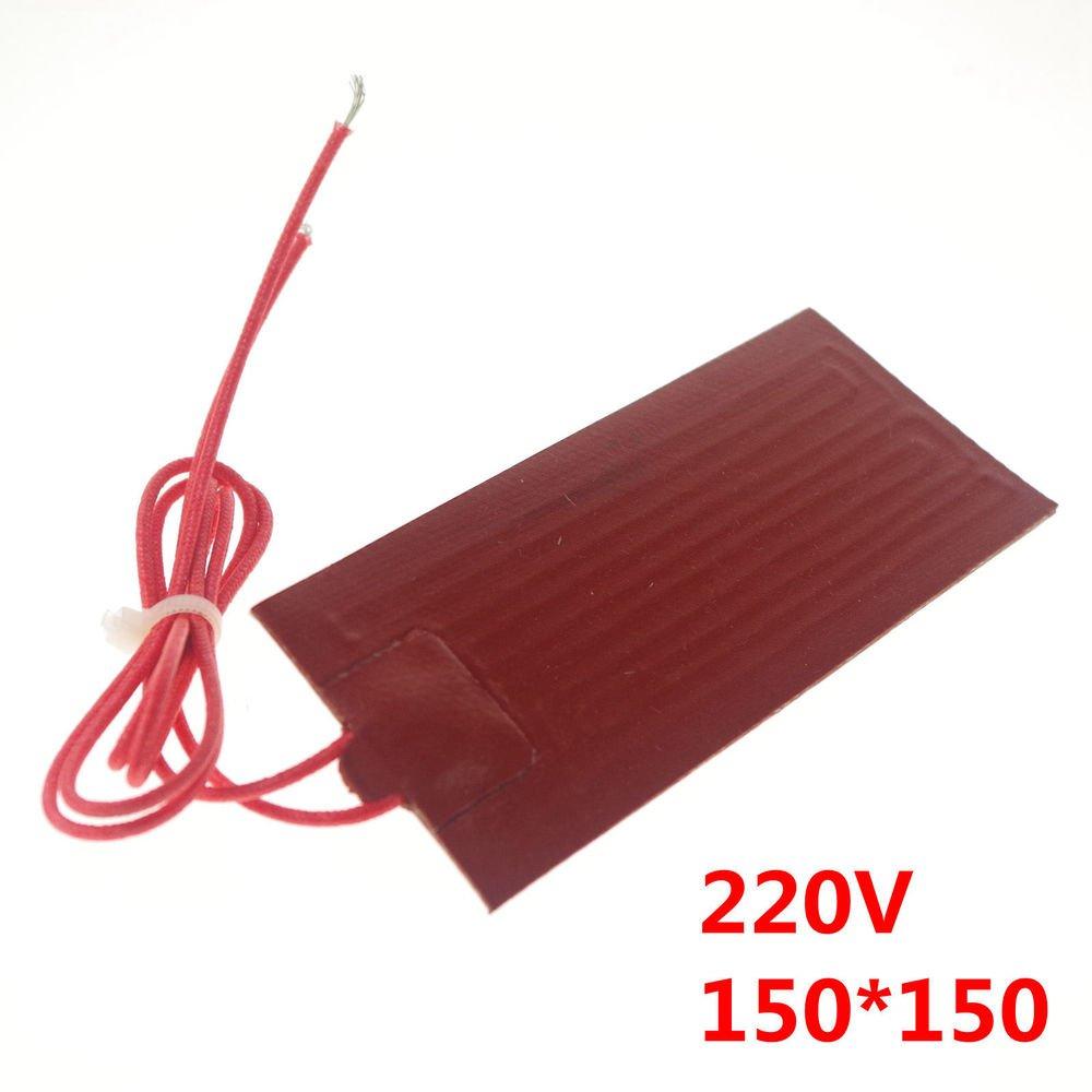 220V 110W 150*150mm Silicon Band Drum Heater Oil Biodiesel Plastic Metal Barrel