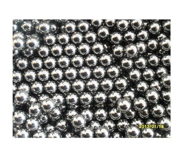 6.35mm Dia Glossy Generally Mechanical Level 2 Steel Balls Each Bid for 0.5Kg