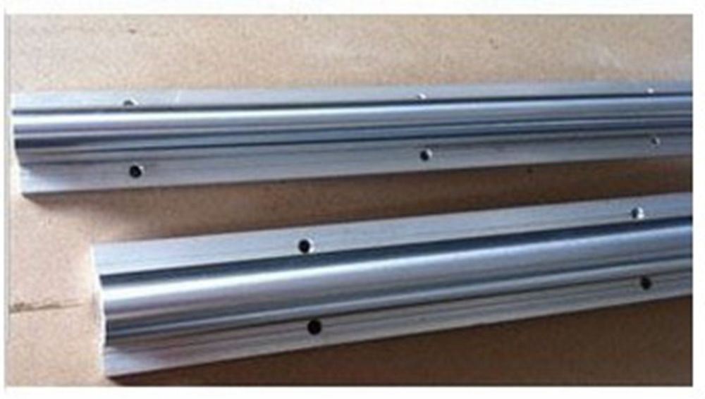 12-40mm Optical Axis Cylinder & Linear Shaft Rails Support different size Length