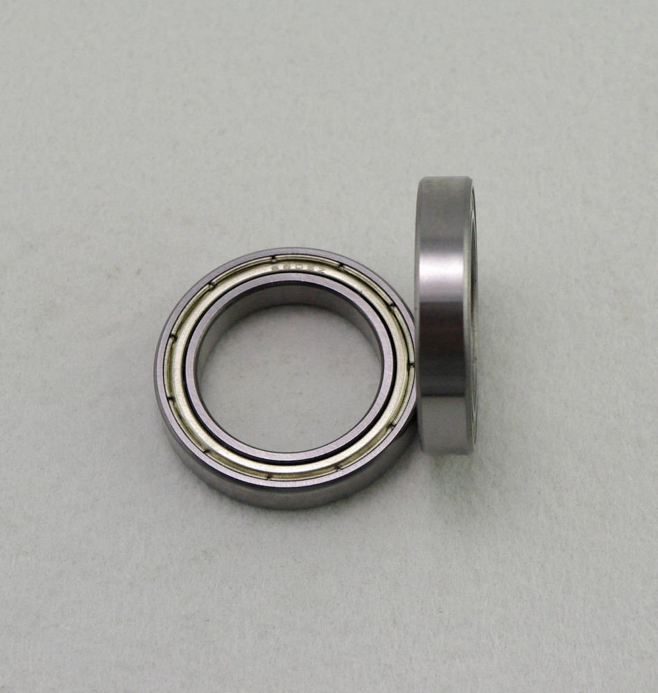 (10) 25 x 37 x 7mm 6805zz Shielded Deep Groove Ball Thin-Section Radial Bearing