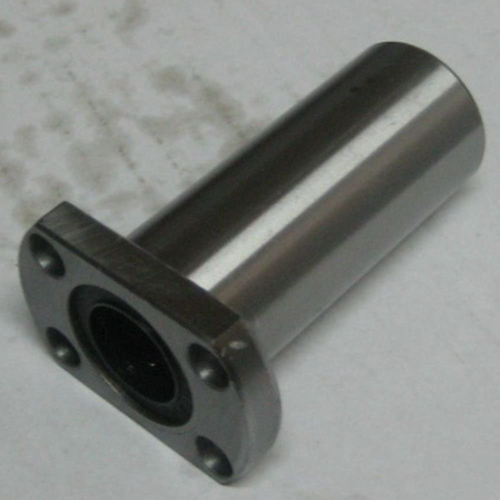 (2)25*40*112mm Ellipse Long Type CNC Linear Motion Metal Shield Bearing LMH25LUU