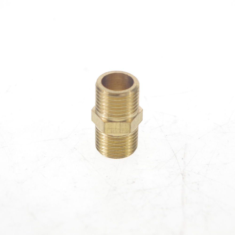 "5PCS 1/8"" BSPP Connection straight Male Pipe Brass Adapter Coupler Connector"