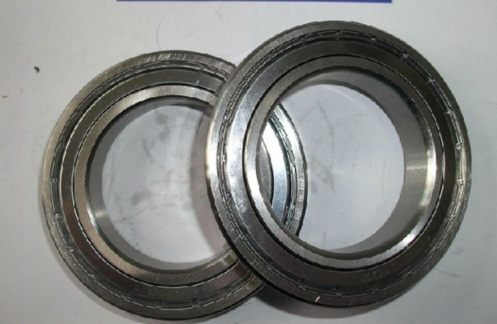 50*80*16mm S6010ZZ shielded deep groove Thin-Section Radial stainless Bearing