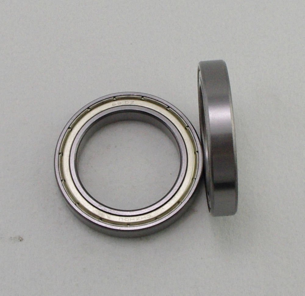 (1) 70 x 100 x 16mm 6914zz Shielded Deep Groove Ball Thin-Section Radial Bearing