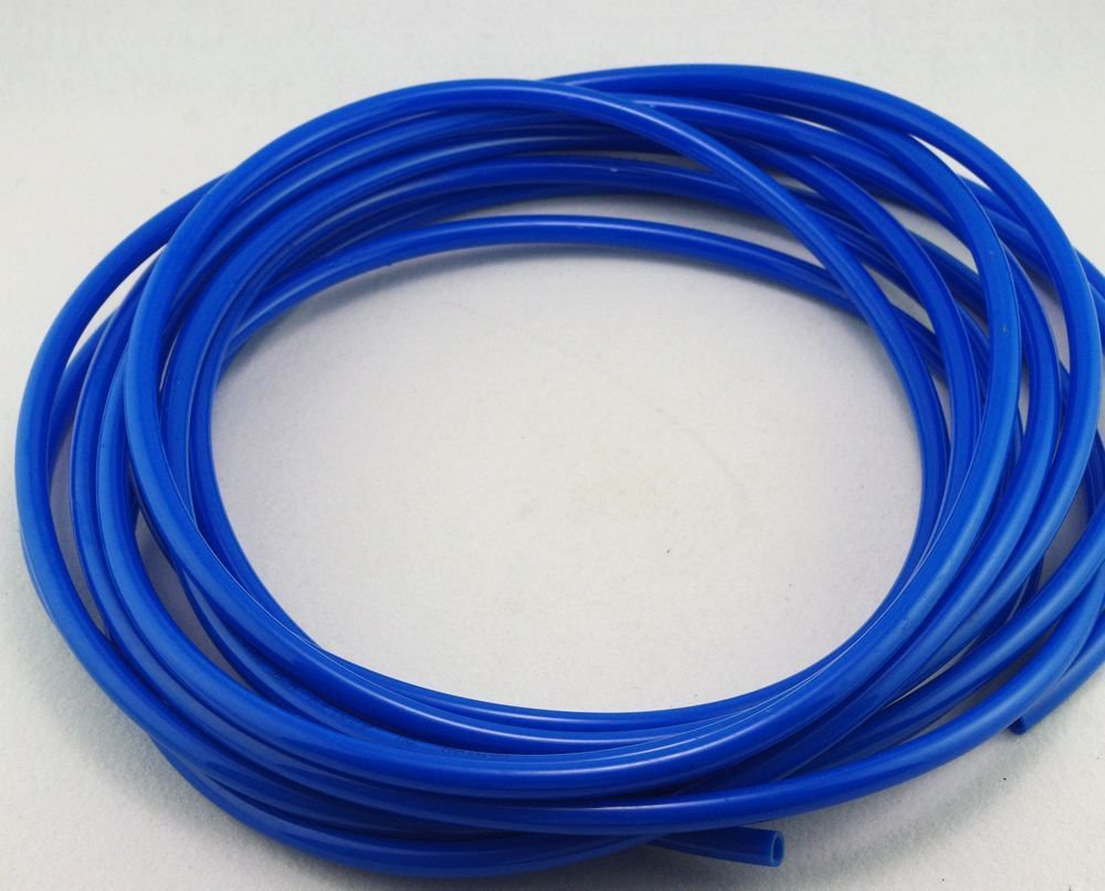 5m(16.4ft) 10mm(OD) x6.5mm(ID)  PU Air Tubing Pipe Hose Color Blue