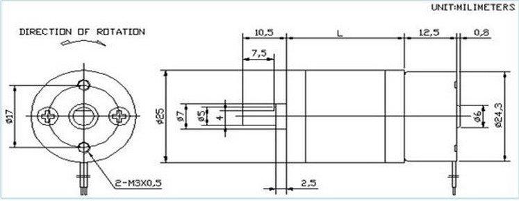 3VDC 53 RPM Heavy Duty Gearhead DC Motor Compact High Speed Geared