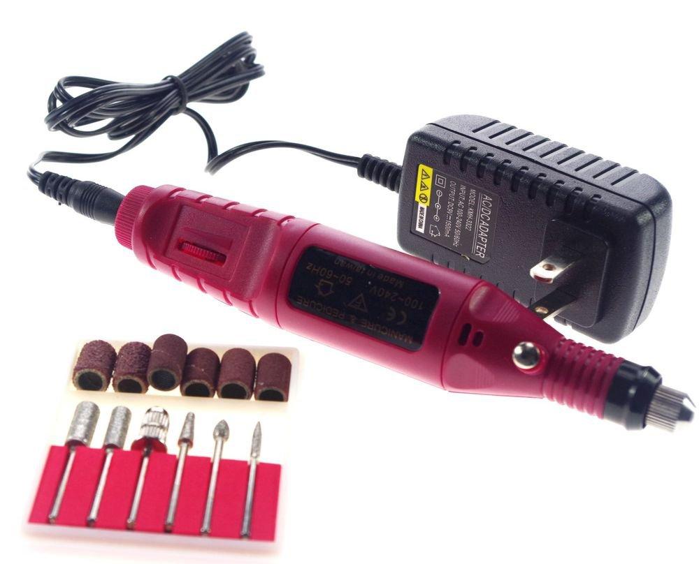 110V Pedicure Bits Electric Nail Drill art Pen Professional Manicure Machine