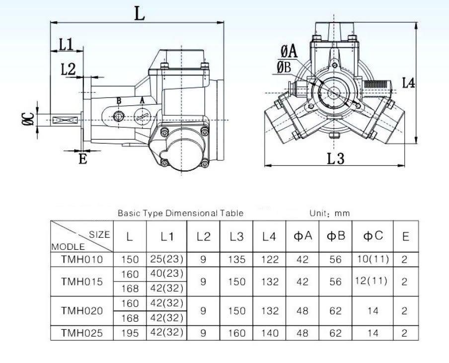 New Air Drive Pneumatic Radial Piston 14mm Shaft Motor 0.2HP 900RPM Mixer DIY