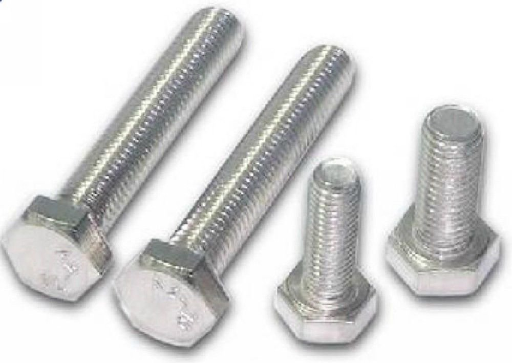 50PCS Metric Thread M6*30mm Stainless Steel Outside Hex Screw Bolts