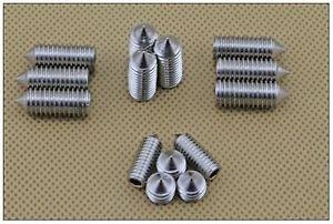 �100� M6*8mm 304 Stainless steel Hex Socket Set Screw grub screw Cusp head