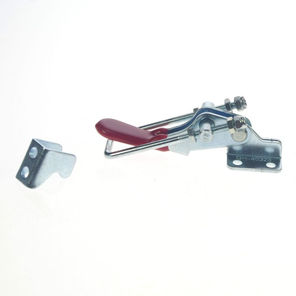 Hand Operated 163.6Kg Push Pull Type Door Button Toggle Clamp GH-40323