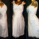S Vtg Satin Full Slip / Underdress / Night-Gown Beautiful Gorgeous Pretty Femme Ladylike Vintage