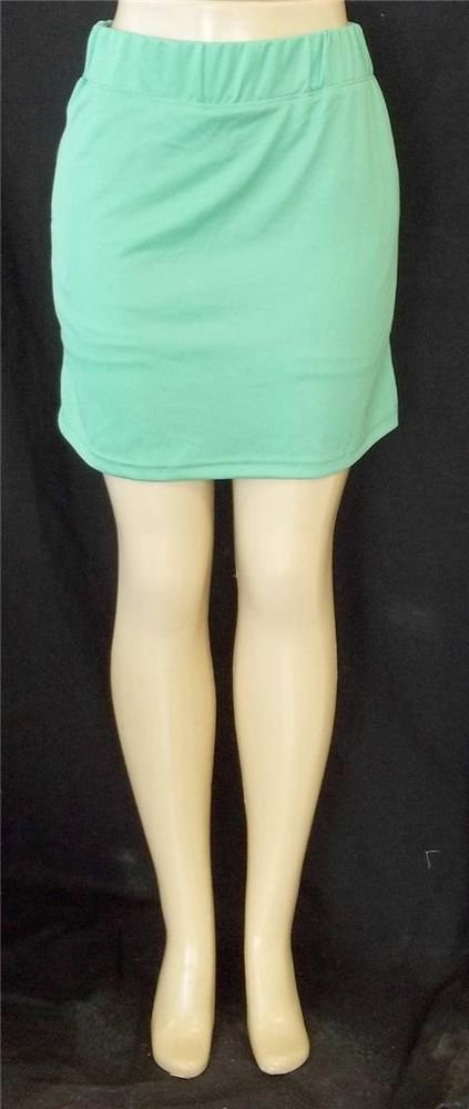 NEW Weekend Traffic Sport Small  4 6 Tennis Golf Mint Green Skort Skirt Shorts