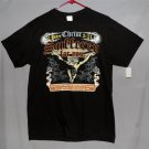 NEW Men's Medium Black 100% Cotton SS Graphic T-Shirt 1 Peter 2:21 Christian