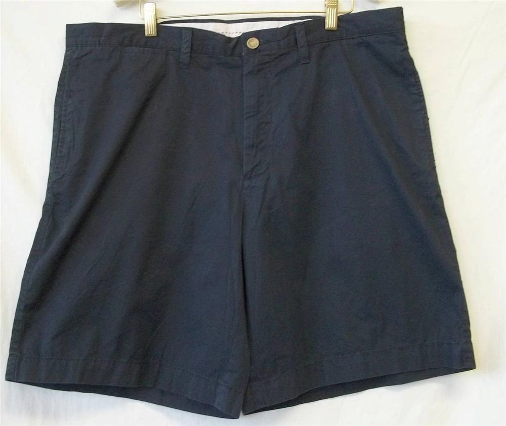 NEW Roundtree & Yorke Men's W38 Navy Blue Golf Walking Boating Shorts