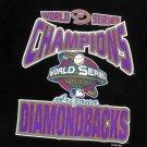 Arizona Diamondbacks Black 2001 World Series Souvenir T-Shirt Youth Small