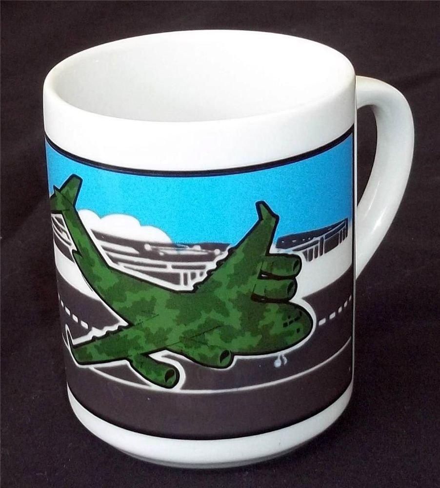 McDonnell Douglas C 17 Collectible1989 Coffee Cup Mug Lion Mktg Atlanta